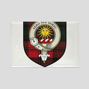 Kerr Clan Crest Tartan Rectangle Magnet