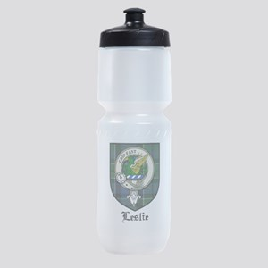 Leslie Clan Crest Tartan Sports Bottle