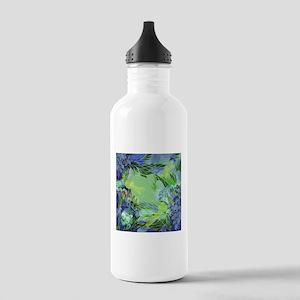 Golden Dragonflies Water Bottle