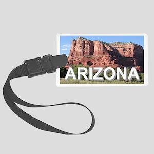 Arizona: rocks near Sedona, USA Large Luggage Tag