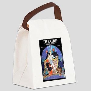 1922 Blackamoor Theatre Magazine Canvas Lunch Bag