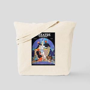 1922 Blackamoor Theatre Magazine Tote Bag