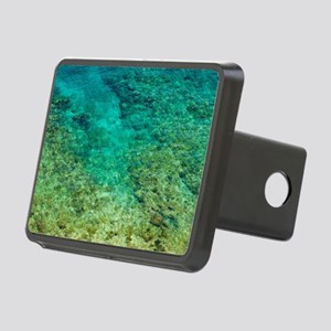 Shallow clear water with c Rectangular Hitch Cover