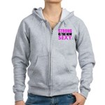 Strong Is The New Sexy Pink Zip Hoodie