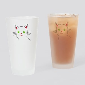 Smoke Catnip and hail Lucipurr Drinking Glass