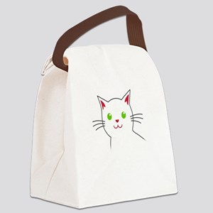 Smoke Catnip and hail Lucipurr Canvas Lunch Bag