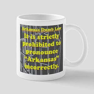 Arkansas Dumb Law 001 Mugs