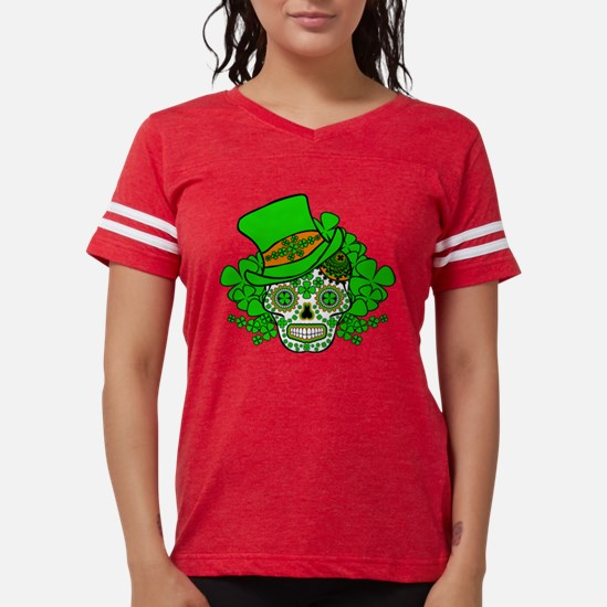 St.Patricks Day Skull 3 T-Shirt