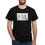 Shut Up and Knit Monkey Dark T-Shirt