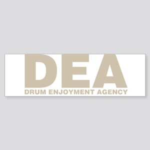 DEA Drum Enjoyment Agency Bumper Sticker