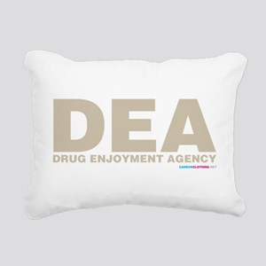 DEA Drug Enjoyment Agency Rectangular Canvas Pillo