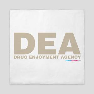 DEA Drug Enjoyment Agency Queen Duvet