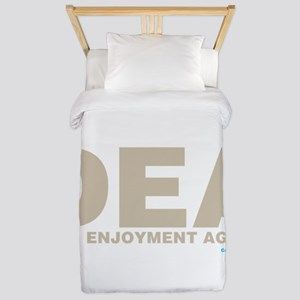 DEA Drug Enjoyment Agency Twin Duvet