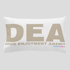 DEA Drug Enjoyment Agency Pillow Case