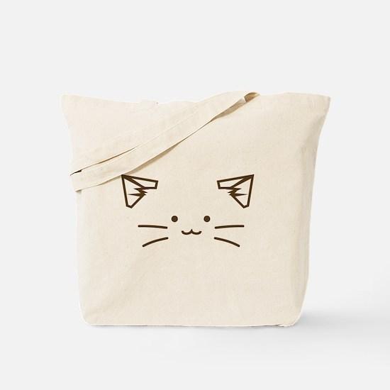 Fuzzballs Cat Face Tote Bag