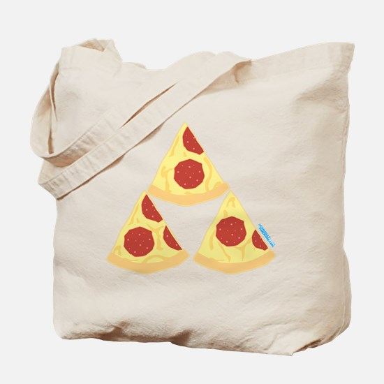 Pizza Triforce Tote Bag