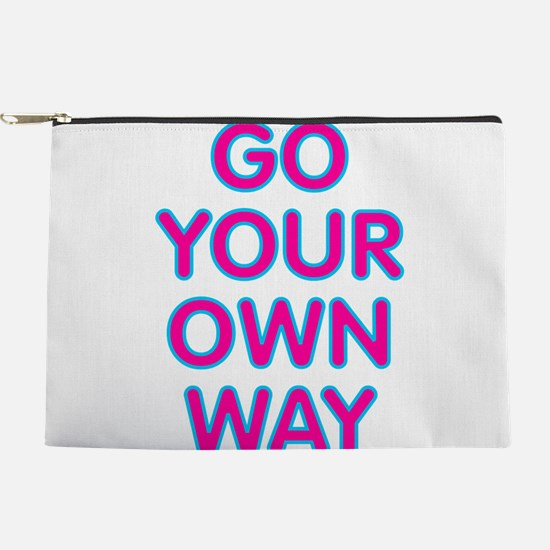 Go Your Own Way Makeup Pouch