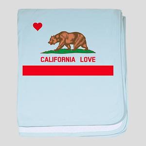 California Love baby blanket