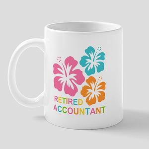 Hibiscus Retired Accountant Mug