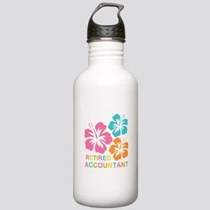 Hibiscus Retired Accou Stainless Water Bottle 1.0L