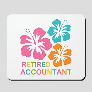 Hibiscus Retired Accountant Mousepad