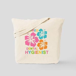Hibiscus Retired Dental Hygienist Tote Bag