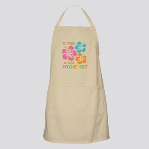 Hibiscus Retired Dental Hygienist Apron