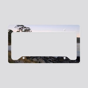 fortescue bay sunrise License Plate Holder