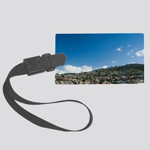 hobart in winter Large Luggage Tag