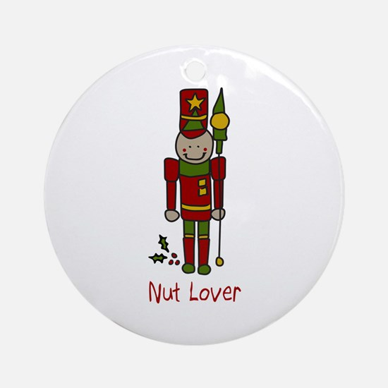 Nut Lover Ornament (Round)