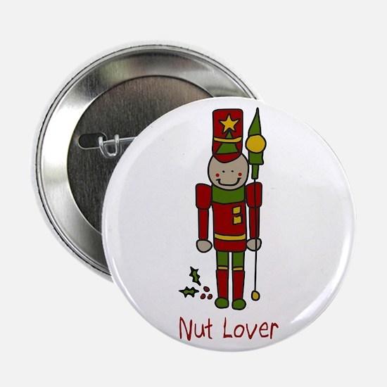 """Nut Lover 2.25"""" Button"""
