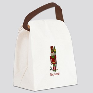 Nut Lover Canvas Lunch Bag