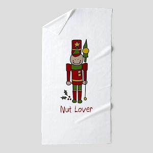Nut Lover Beach Towel