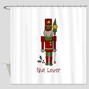 Nut Lover Shower Curtain