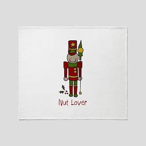 Nut Lover Throw Blanket