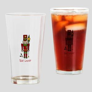 Nut Lover Drinking Glass