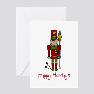 Holiday Nut Cracker Greeting Cards