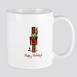 Holiday Nut Cracker Mugs