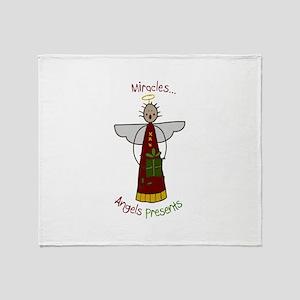 Miracle Angel Throw Blanket