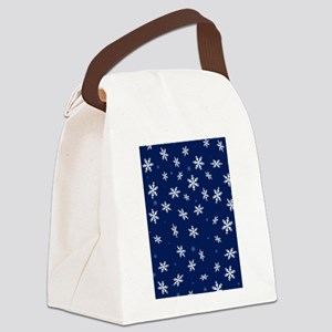 Snow Canvas Lunch Bag