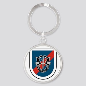 20th Special Forces Round Keychain