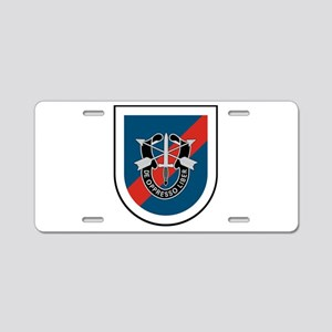 20th Special Forces Aluminum License Plate