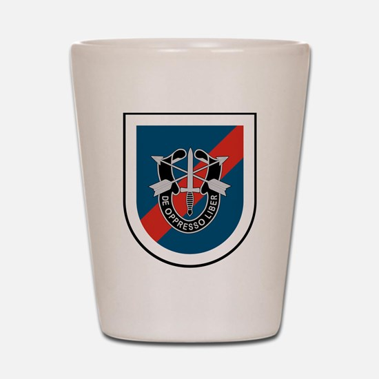 20th Special Forces Shot Glass