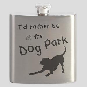 Dog Park Flask
