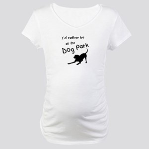 Dog Park Maternity T-Shirt