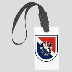 11th Special Forces Large Luggage Tag