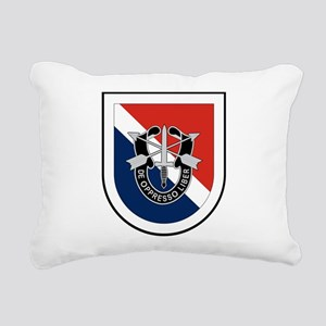 11th Special Forces Rectangular Canvas Pillow