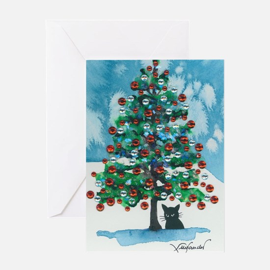 Unique Cute cat Greeting Card