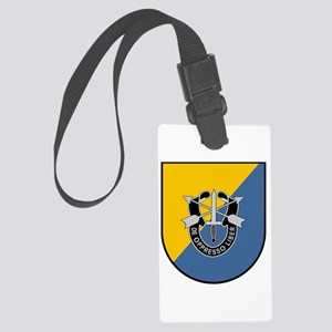 8th Special Forces Large Luggage Tag