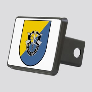 8th Special Forces Rectangular Hitch Cover